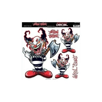 Sticker Ax Clown