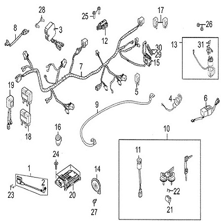 45121 together with 62509 2005 Sportsman 400 A moreover 2013 06 01 archive in addition 1999 Polaris Xplorer 400 Wiring Diagram likewise Polaris Rzr Wiring Diagram. on polaris scrambler 500