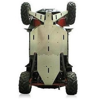 Protections de triangle Avant Alu - CRD - Polaris RZR 900 XP